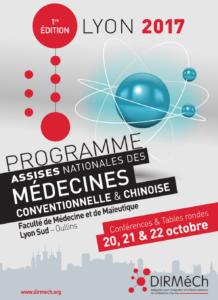 assises nationales des médecines conventionnelle & chinoise - c2ds